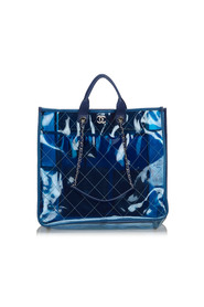Quilted Large Coco Splash Shopping Tote