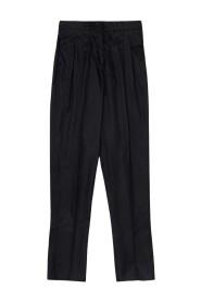 Pantalon taille haute  style baggy
