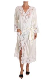 Silk Lace Sleepwear Kimono Lingerie