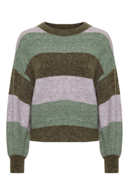 Angel Stripe Pullover