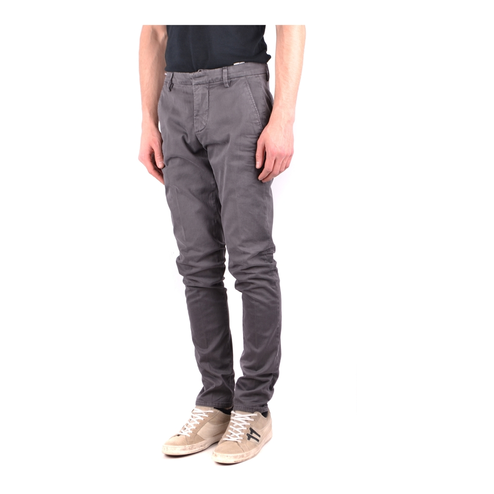 Dondup Gray Trousers Dondup