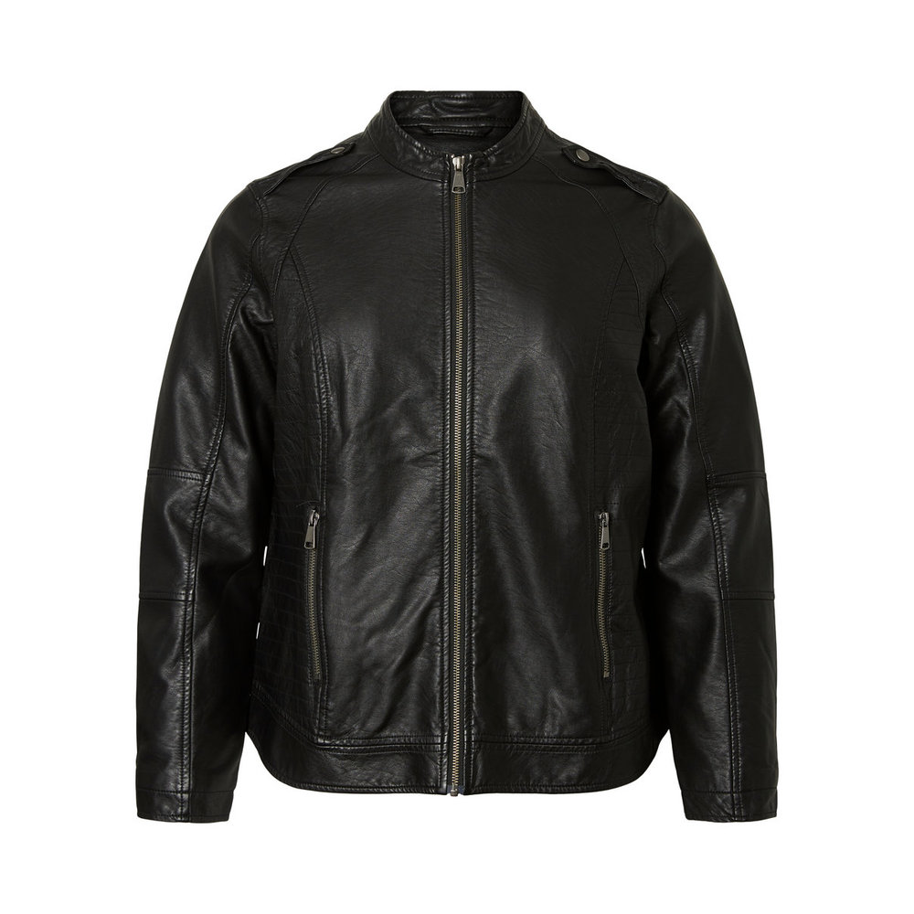 Jacket Short leather look