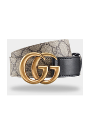 Jacquard leather belt