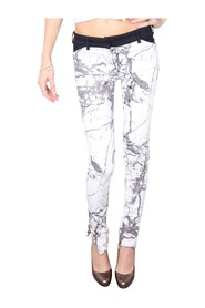 Stones Print Jeans -Pre Owned Condition Excellent