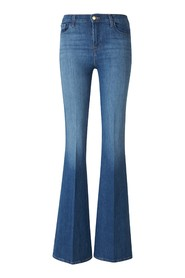 High-Rise Flared Jeans