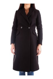 FRACOMINA FR19FM725 Overcoat Women BLACK