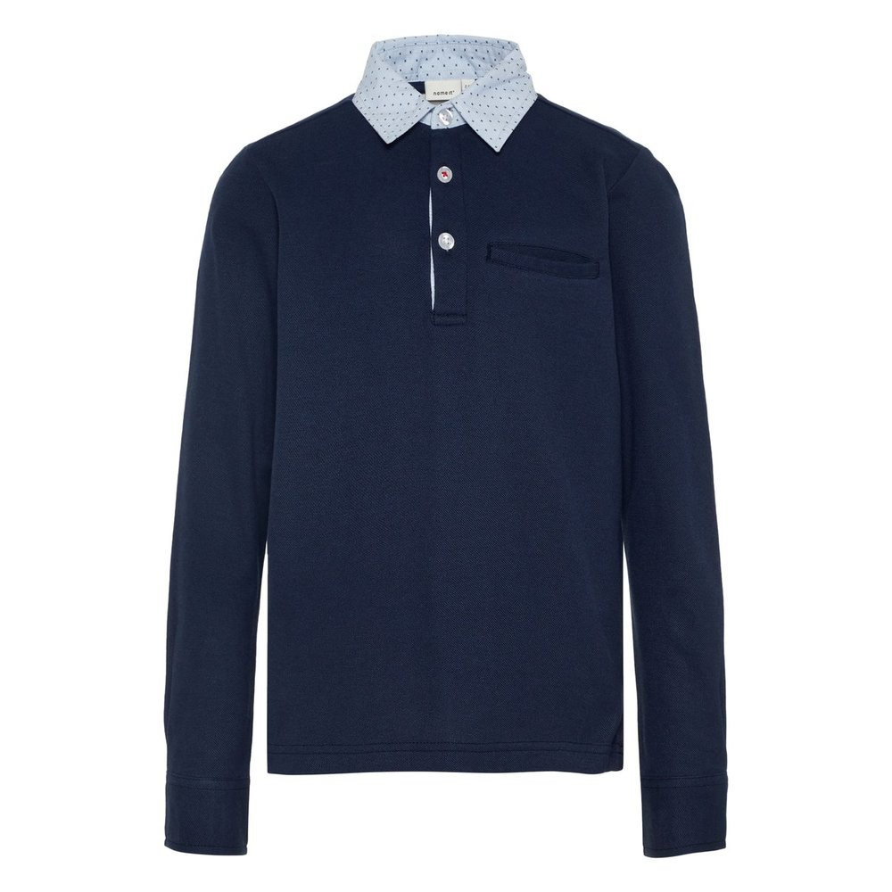 Polo Shirt long-sleeve cotton
