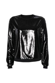 PS 55 14 W28 Bloes, sweater zwart blikkend