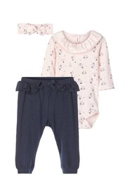 Gift set romper and trousers