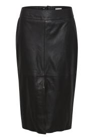 Bally Leather Skirt