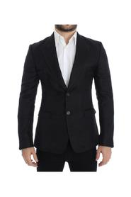 Silk slim fit blazer