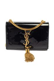 pre-owned Patent Leather Small Kate Tassel Crossbody Bag
