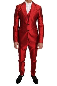 Slim Fit 3 Piece Two Button Suit