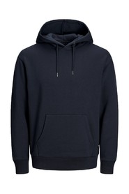 Sort Jack & Jones Soft Sweat Hood Genser