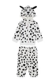 Dalmatian Printed Cotton Suit