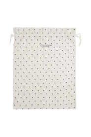 dotted gauze bag