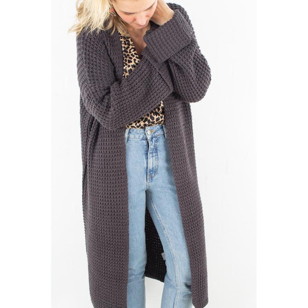 Oversized Chunky Sleeve Knit