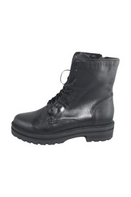 BOOTS WITH LACES AND ZIP AT RUBBER BOTTOM