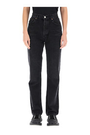 row rise straight jeans