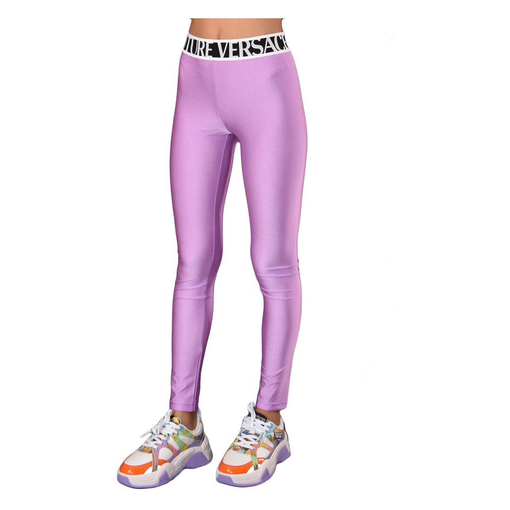 Versace Jeans Couture Pink LEGGINGS Versace Jeans Couture