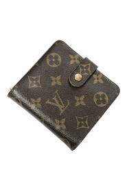 Pre-owned Compact Zip Wallet