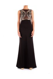 FABIANA FERRI 30143 DRESS Women BLACK