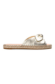 Saltie Shore leather slide sandals