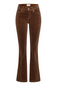 Parla Flared Cord trousers