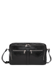 Luna Black Salerno Shoulder Bag