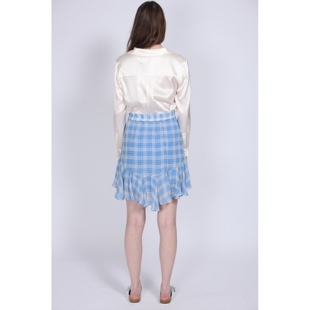 Terna Skirt - Little Boy Blue  Second Female  Miniskjørt - Dameklær er billig