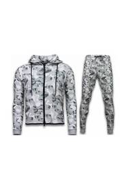 Exclusive Windrunner Camo Trainingspakken - Camouflage Joggingpak