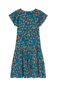 All Over Oranges Flamenco Dress