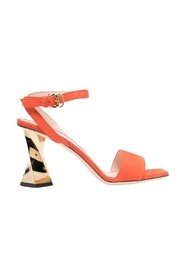 Sandals and Sculpted heel