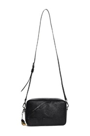 BORSA STAR HAMMERED LEATHER BODY STAR AND SHOULDER STRAP