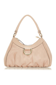 ssima Abbey D-Ring Shoulder Bag Leather Calf