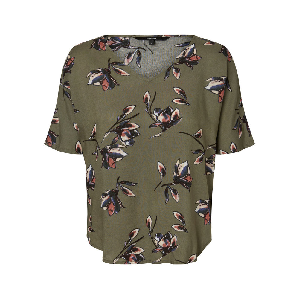 Short Sleeved Top Casual