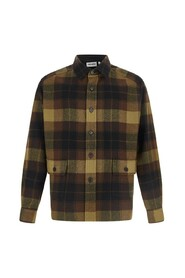 Casual overshirt  with check pattern