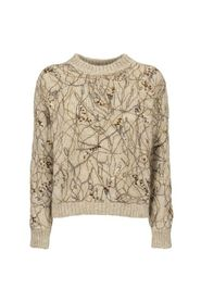 Mohair sweater with Dazzling