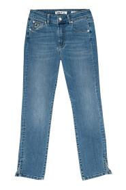 Celia Split Bolger Triple Jeans