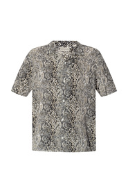 Reptilia patterned shirt
