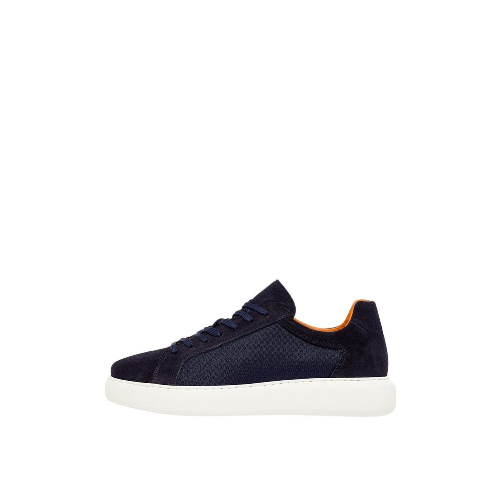 Suede Mesh Trainers