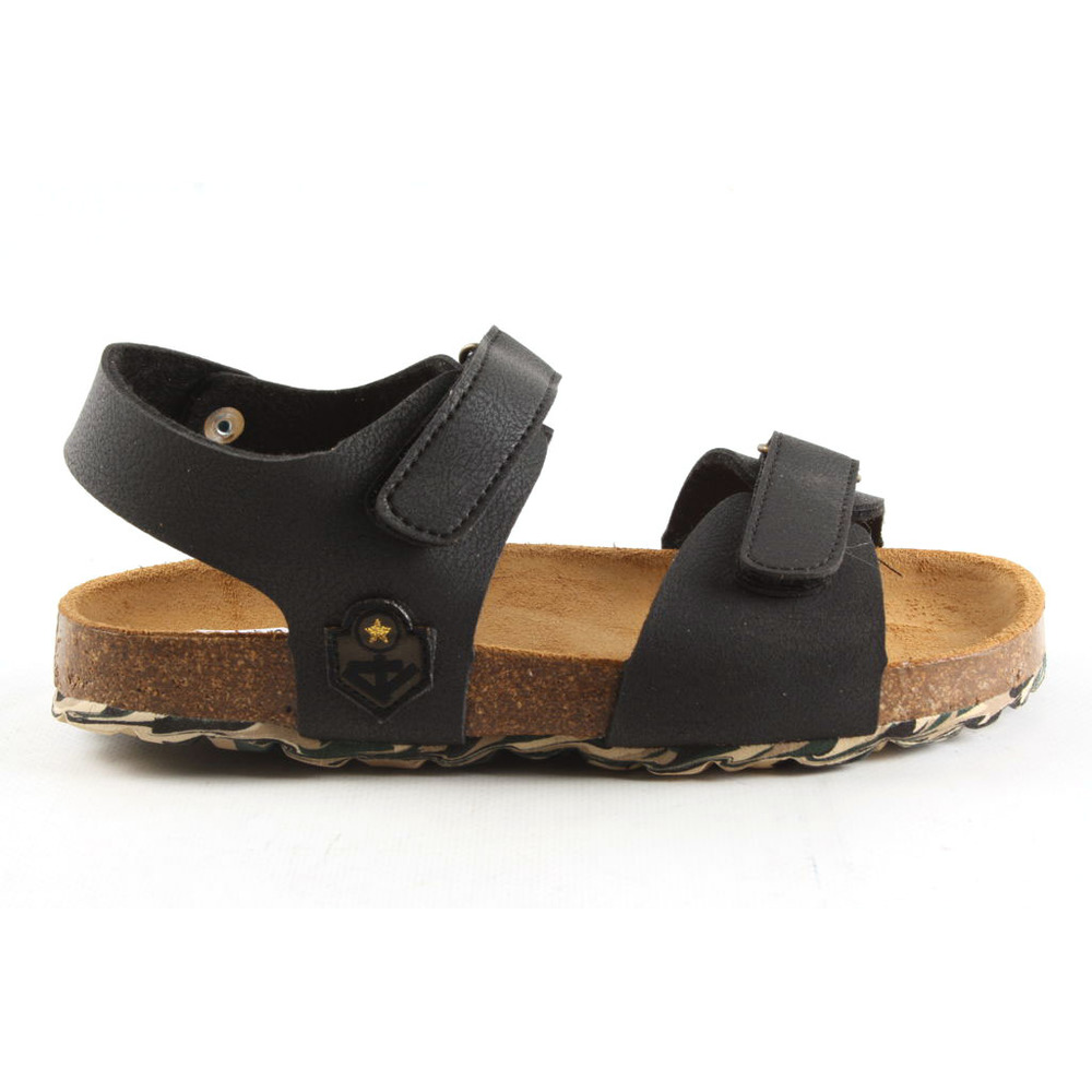 48163-928 Grained sandalen sportief