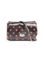 SHOULDER BAG WITH RED STARS