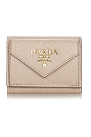 Pre-owned Saffiano Small Wallet
