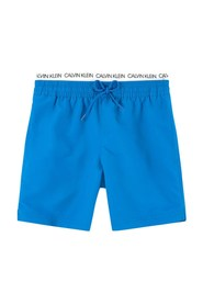 CALVIN KLEIN B70B700178 MEDIUM DOUBLE WAIST swimsuit  sea and pool Boy Bluette