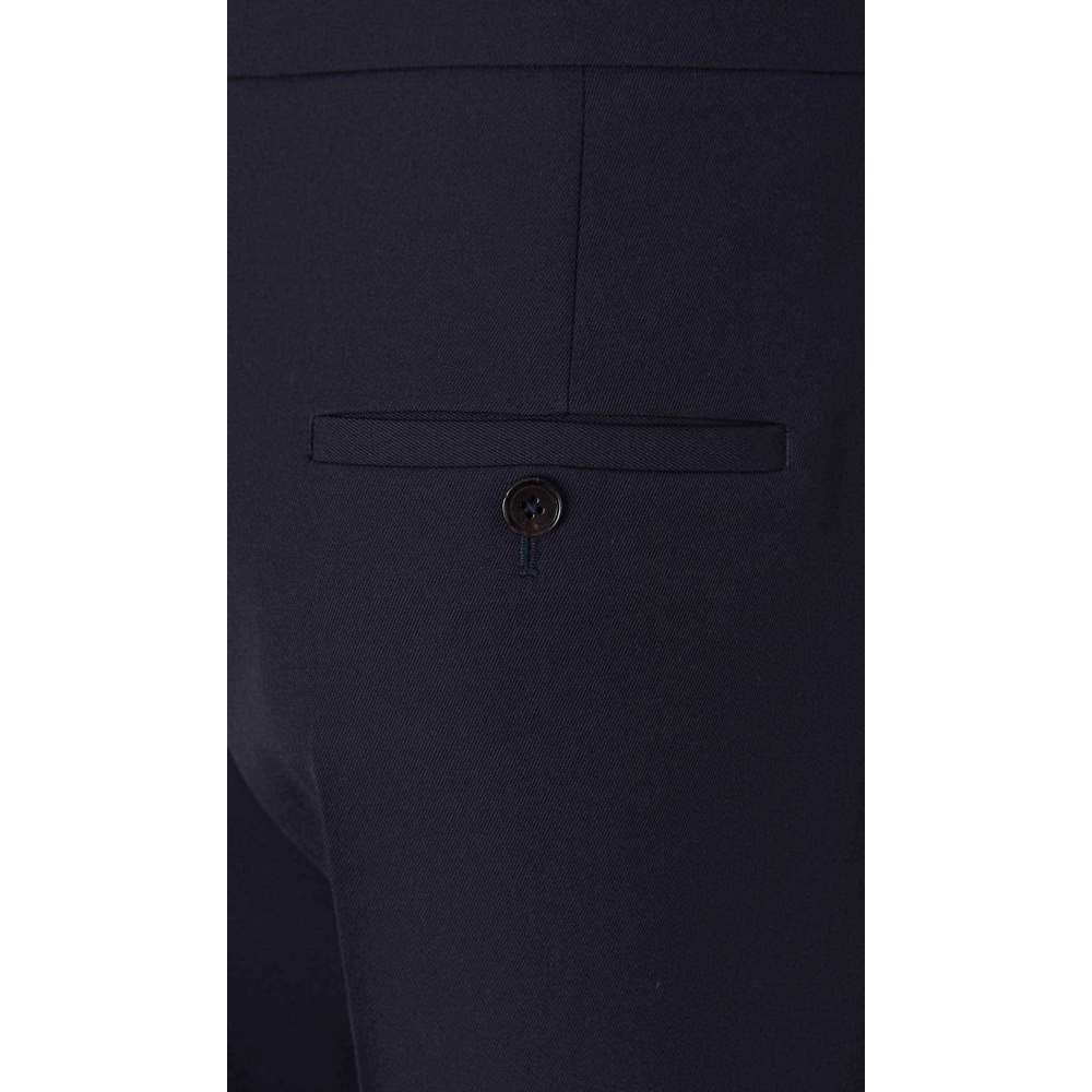 Jil Sander MIDNIGHT BLUE Wool twill trousers Jil Sander