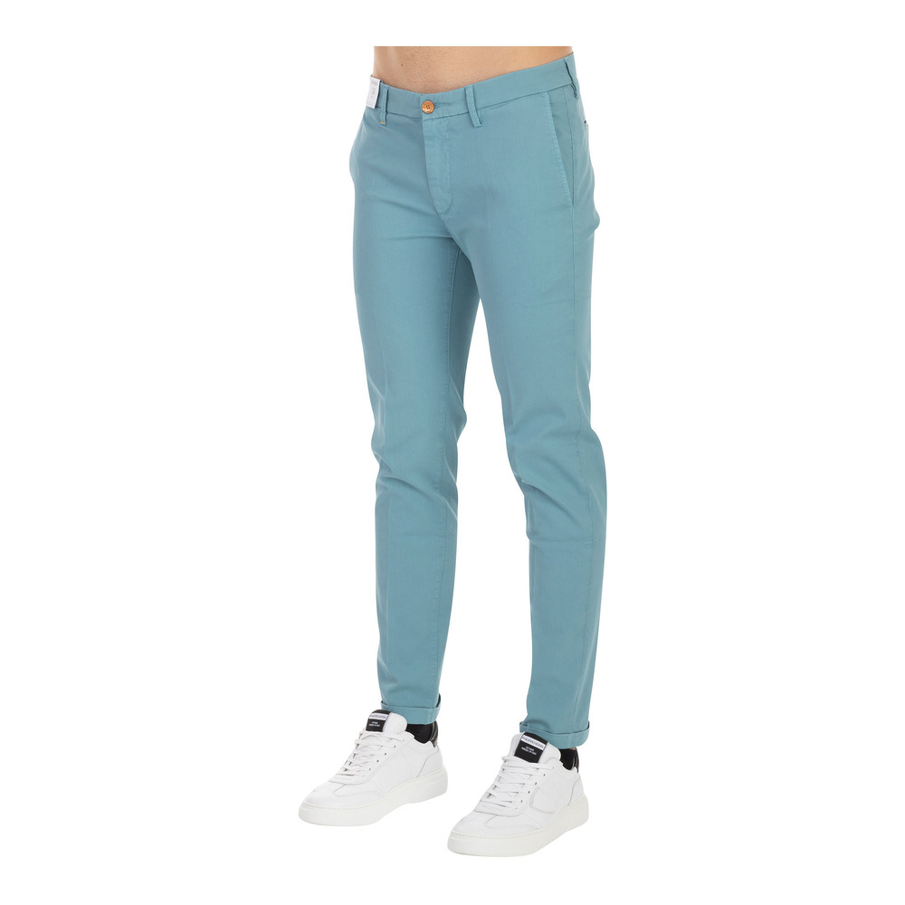 Snelle Express Heren Kleding Blue AMUICA POCKET MUCHA TROUSERS Re Hash Chino's maip67w