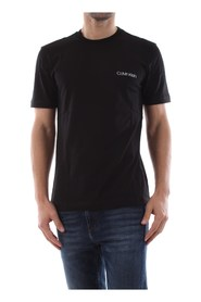 CALVIN KLEIN K10K103307 COTTON CHEST T SHIRT AND TANK Men BLACK