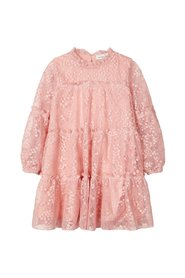 Dress tiered lace