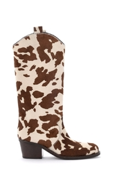 Boot Cow Print